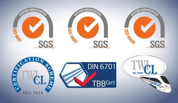 Hydram quality accreditations