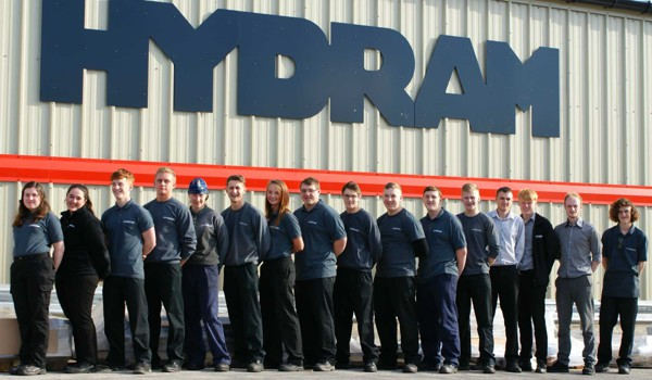 Apprentices at Hydram