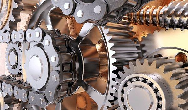 gears, chains mechanism