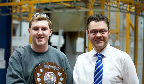 apprentice receives award