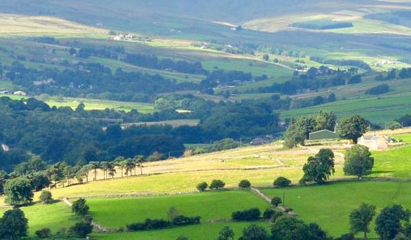 County Durham hills, Weardale