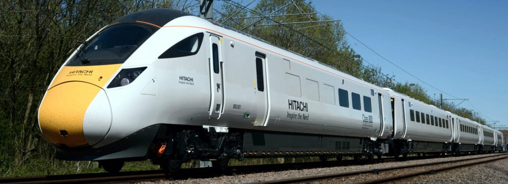 Hitachi Azuma Test Train