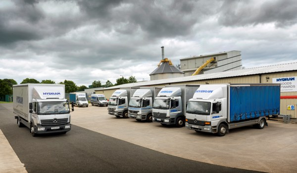 Hydram delivery vehicles