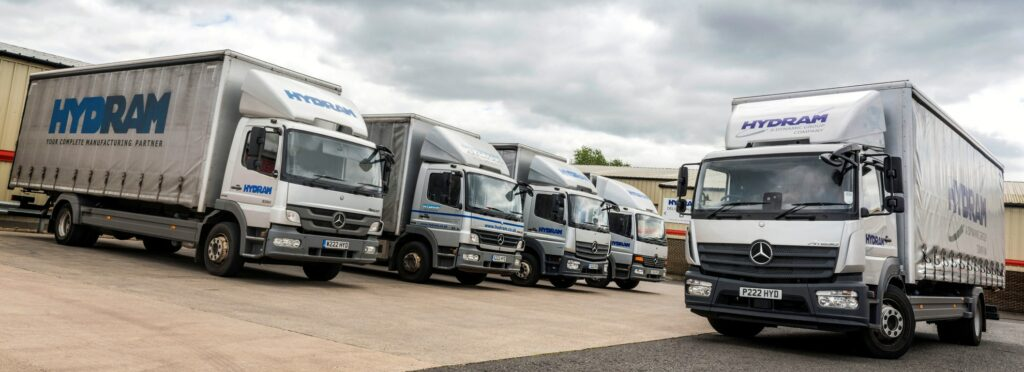 Atego truck arrives at Hydram